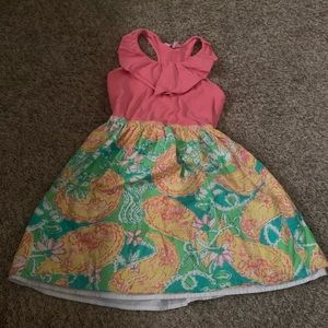 Lilly Pulitzer dress Girls 8/10